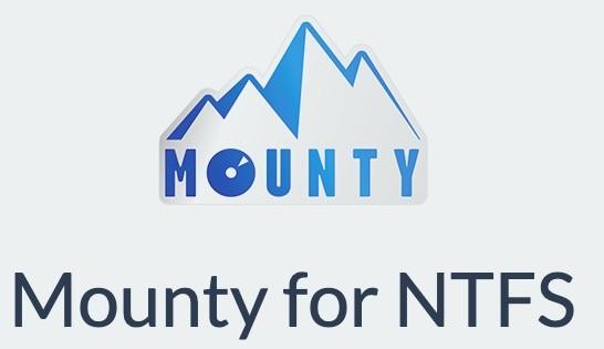 免费的MacOS NTFS磁盘挂载工具:Mounty for NTFS