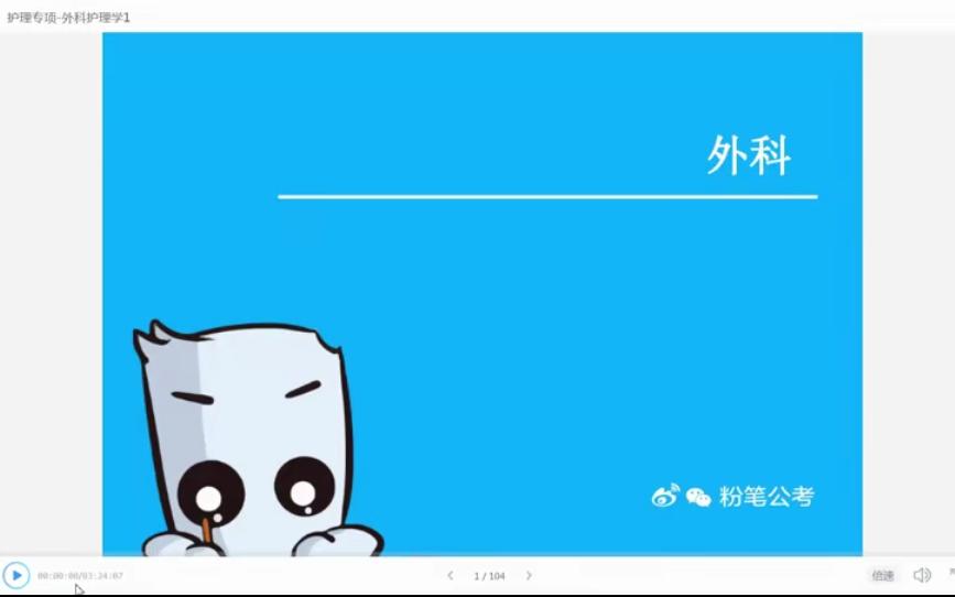 2020粉笔军队文职招考精讲班-医学类护理学插图(6)