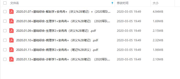 2020粉笔军队文职招考精讲班-医学类护理学插图(2)
