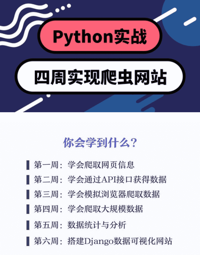 Python四周实现爬虫系统