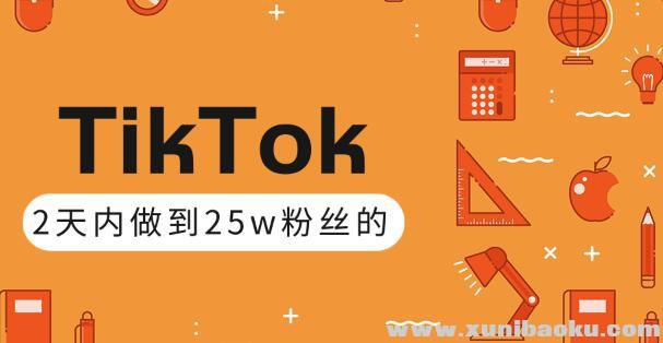 TikTok打造成权重高的热门优质账号,我是如何在12天内做到25w粉丝的(视频+文档)