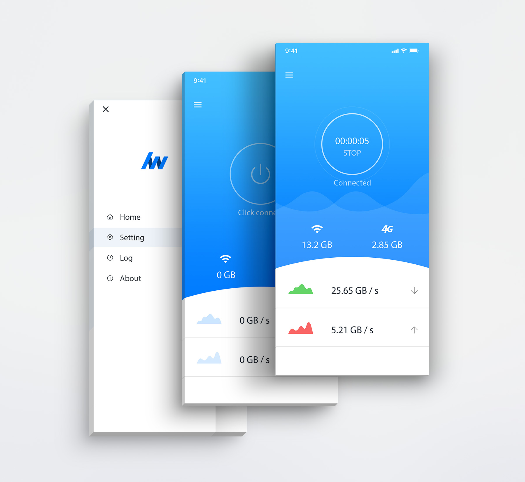 LightWAN APP UI