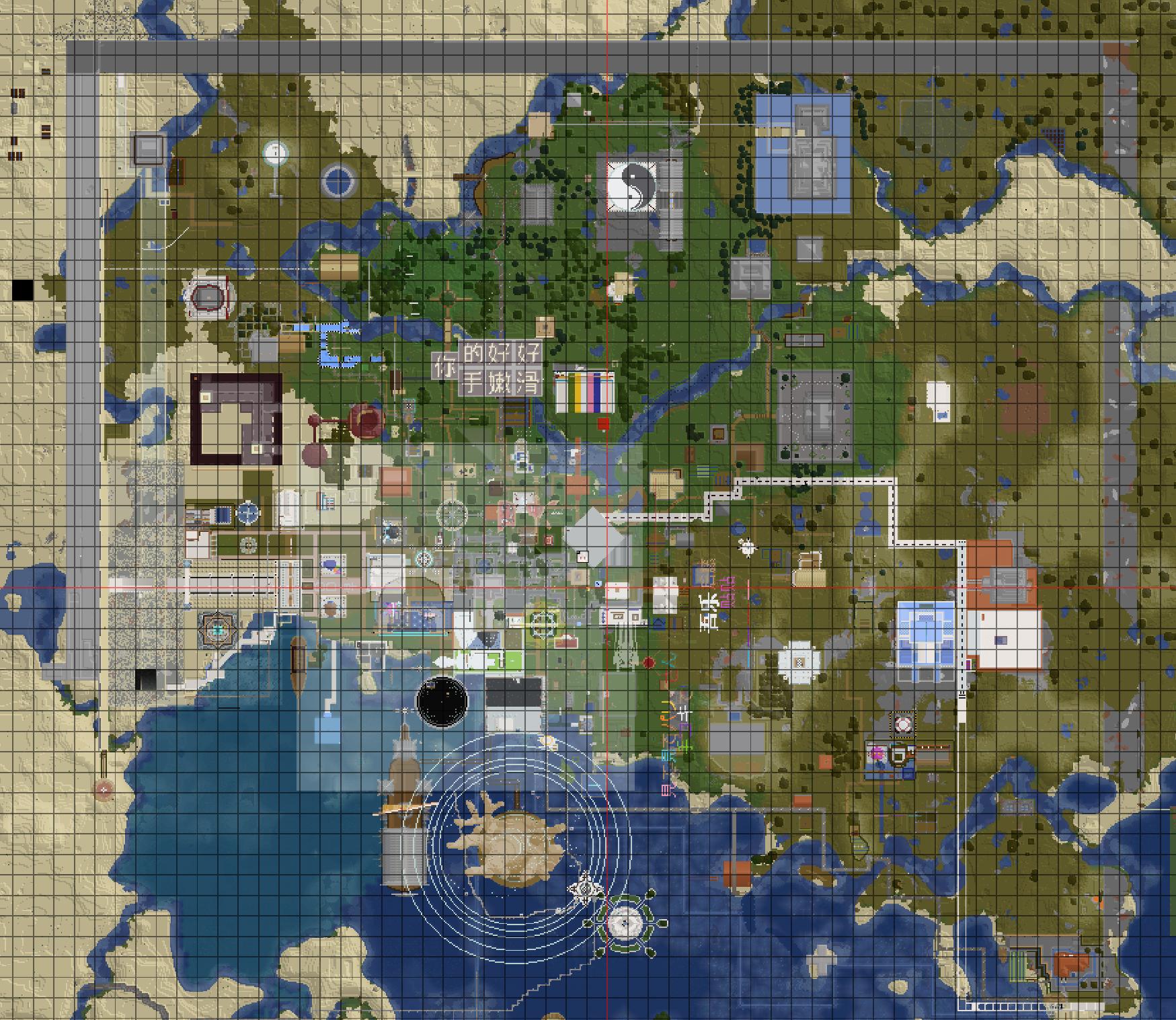 P5MC Minecraft 主城 地图