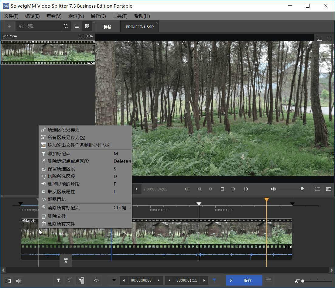 视频剪辑SolveigMM Video便携版