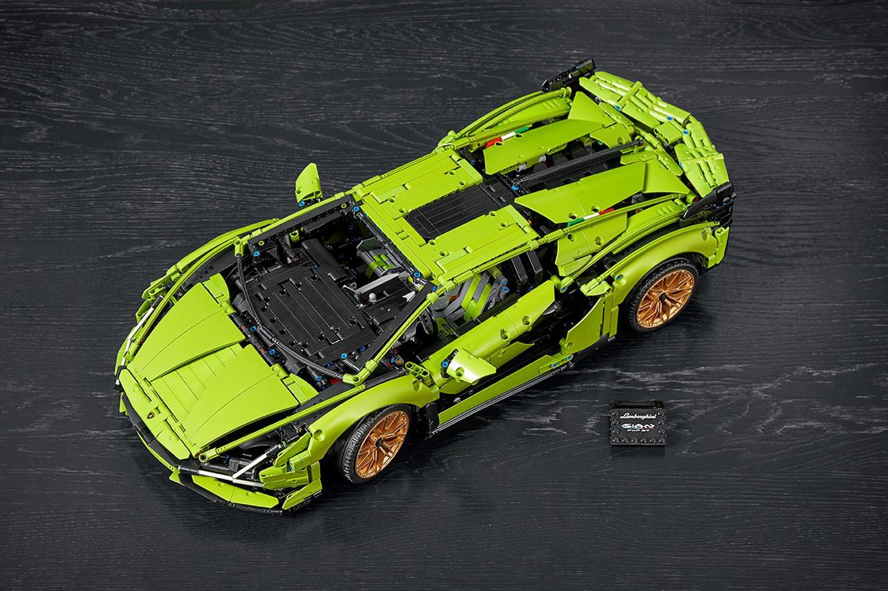 乐高LEGO推出「兰博基尼Sian FKP 37」超跑拼装模型:6月1日开售