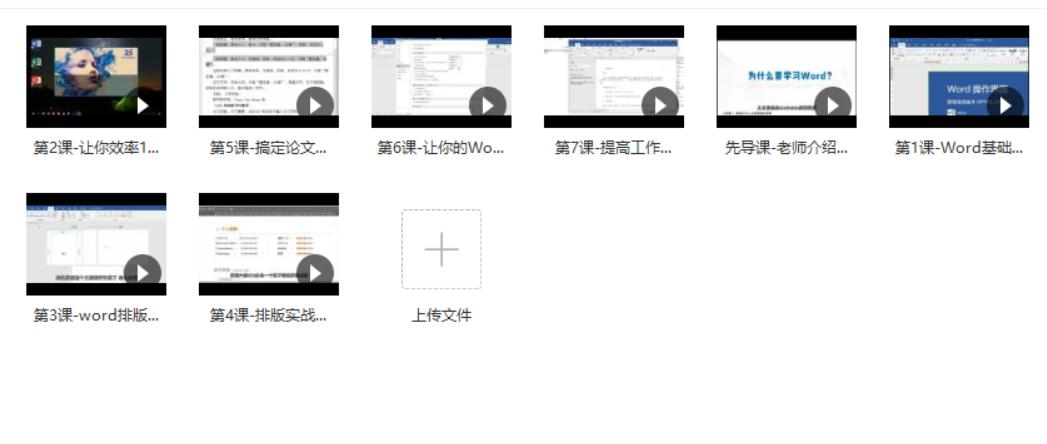办公软件word入门视频教程,word从零基础到高手视频教程插图