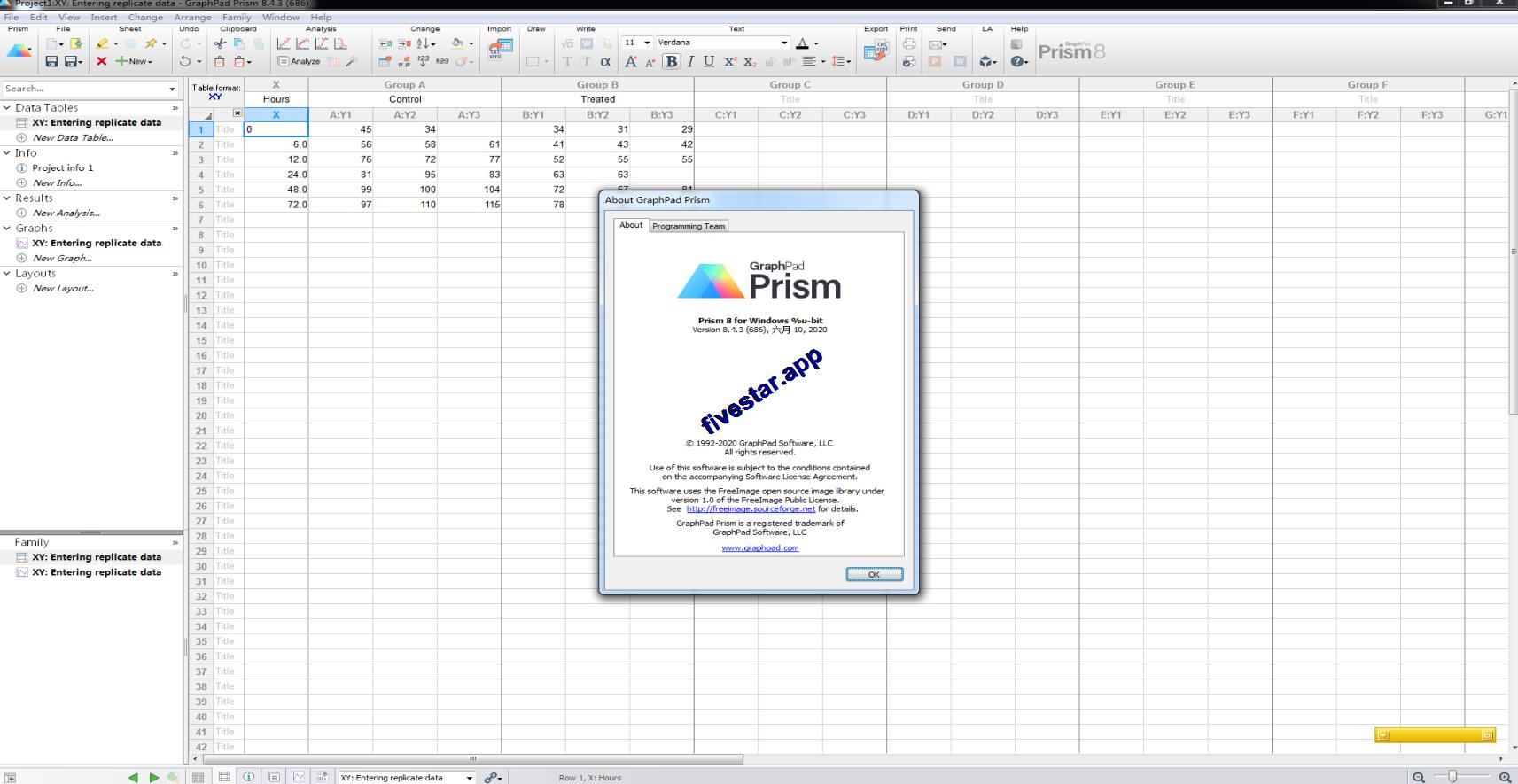 科学绘图软件GraphPad Prism v8 英文破解版