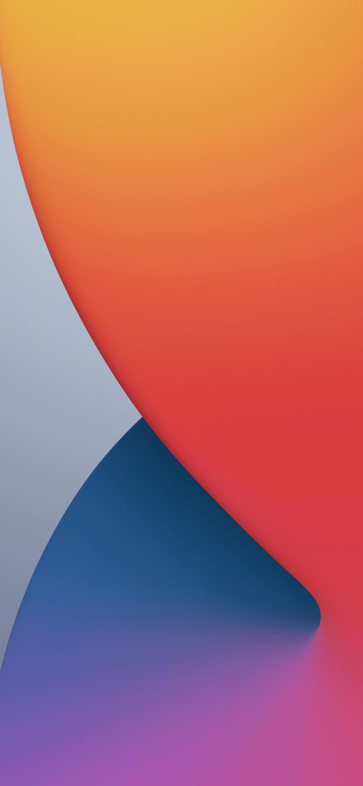 苹果iOS 14/iPadOS 14系统自带壁纸下载
