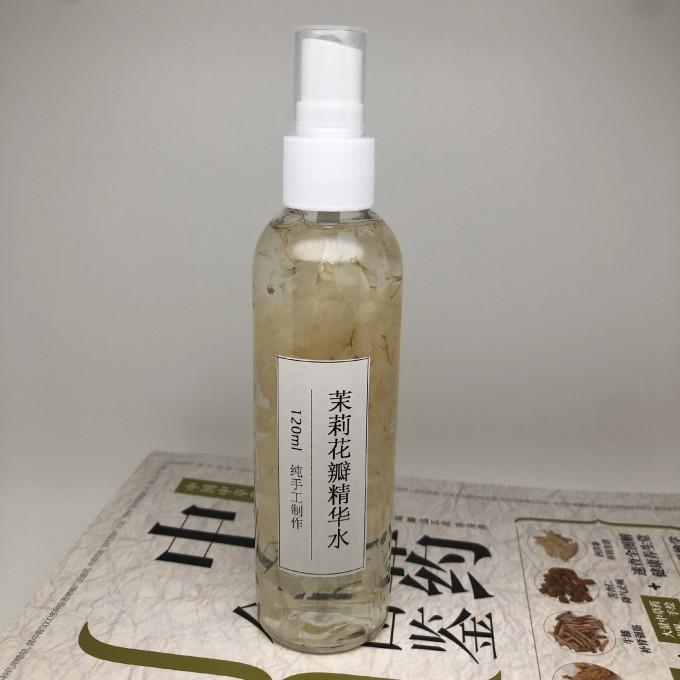 【纯手工】茉莉花瓣精华水(敏感肌肤用什么护肤品)