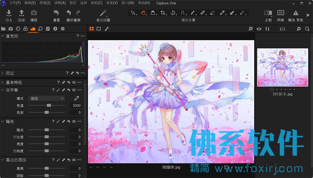 专业的RAW图像处理软件Capture One Pro 20 中文版