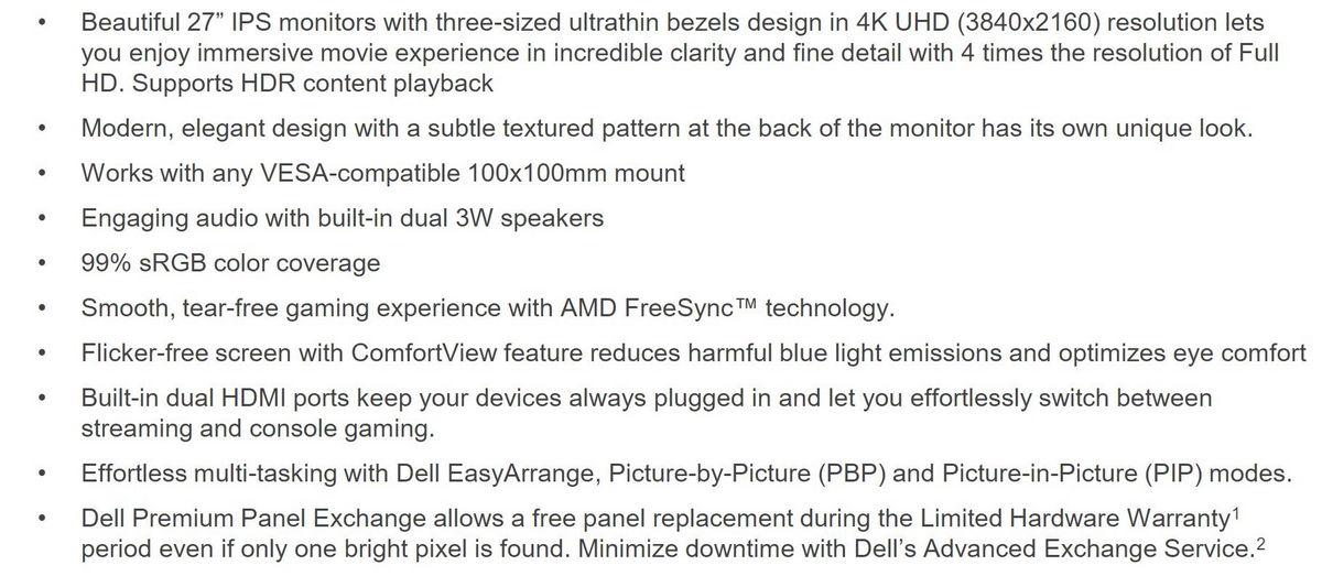 戴尔DELL推出S系列显示器新品:提供27/32英寸选择-玩懂手机网 - 玩懂手机第一手的手机资讯网(www.wdshouji.com)
