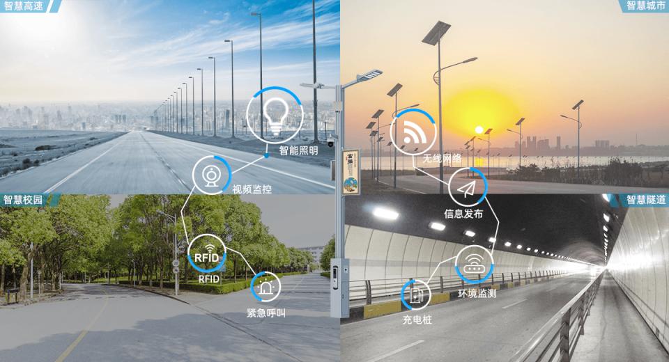 智慧路灯杆成为城市的数据中枢