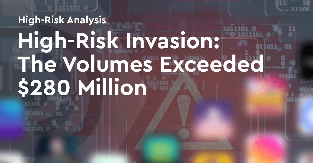 高风险加密Dapps市场:三大币交易量超2.8亿美元,风险爆炸前警示