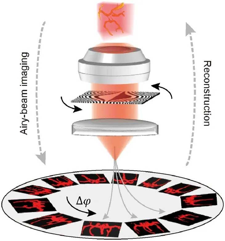 哈工大在新型生物光学显微成像技术方向取得重要进展--图1 ATM成像原理