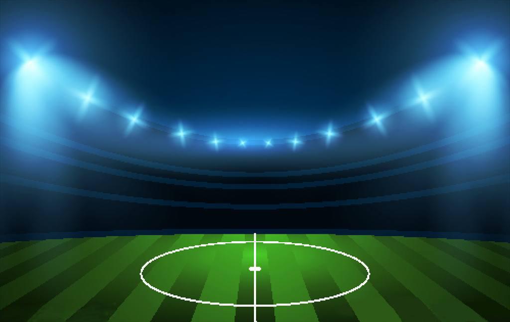 足球场专用灯的灯光视觉效果极其关键