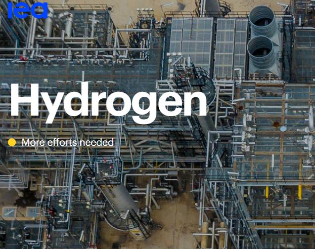 国际能源署(IEA)发布《全球氢能进展报告》