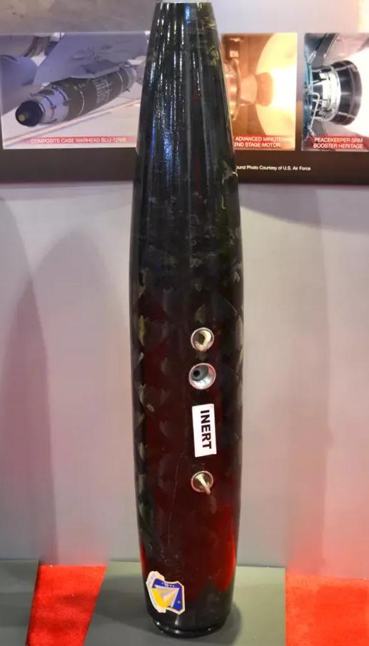 用于BLU-129/B炸弹的碳纤维主体结构