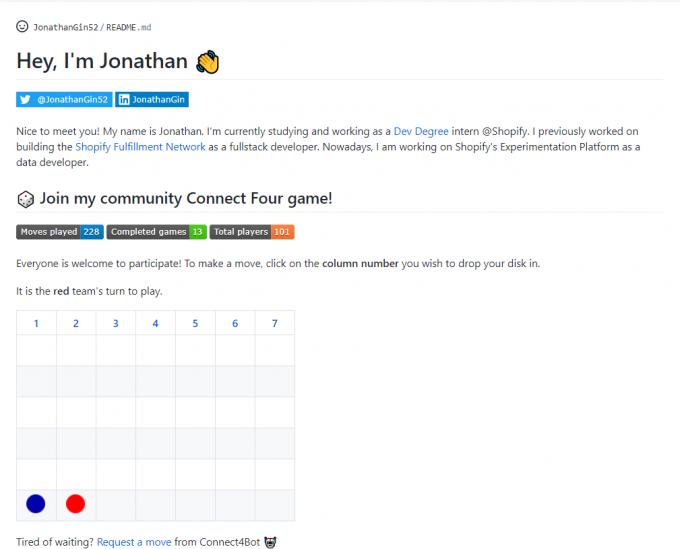 老哥来都来 ,玩个游戏呗 - GitHub Profile README