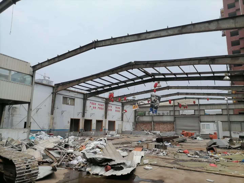 出售25米宽×48米长×6.8米高库房 河南郑州