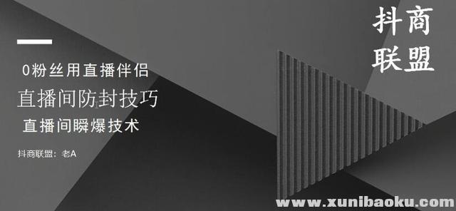 抖商抖音课程:破直播间不适宜+0粉无人直播+直播间防封技巧+瞬爆技术