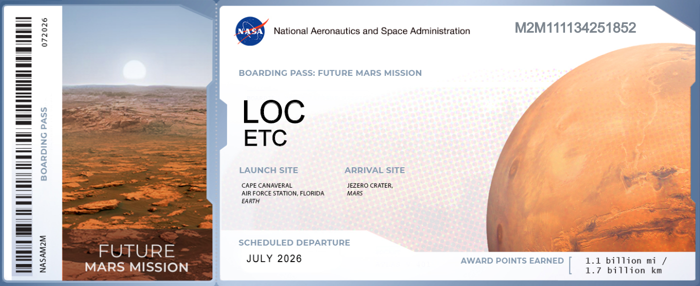 免费领取NASA船票 把自己的名字送上火星-图3