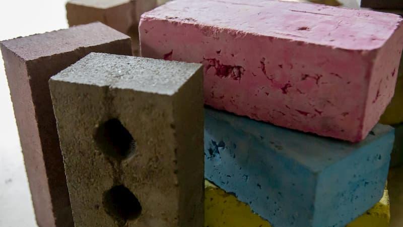 伦敦科技公司发明了一种红砖的新制作方法大大减少碳排放量
