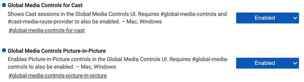 全局媒体控制