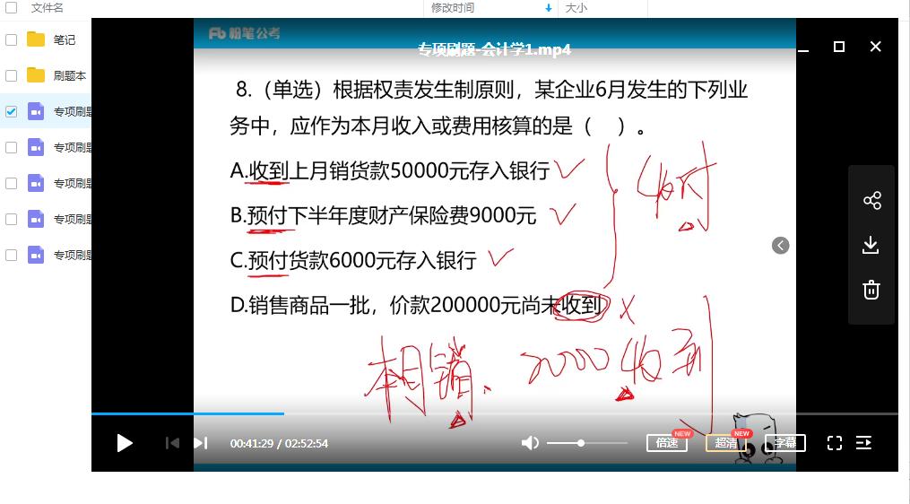 2020军队文职招考刷题课会计专业知识插图(2)