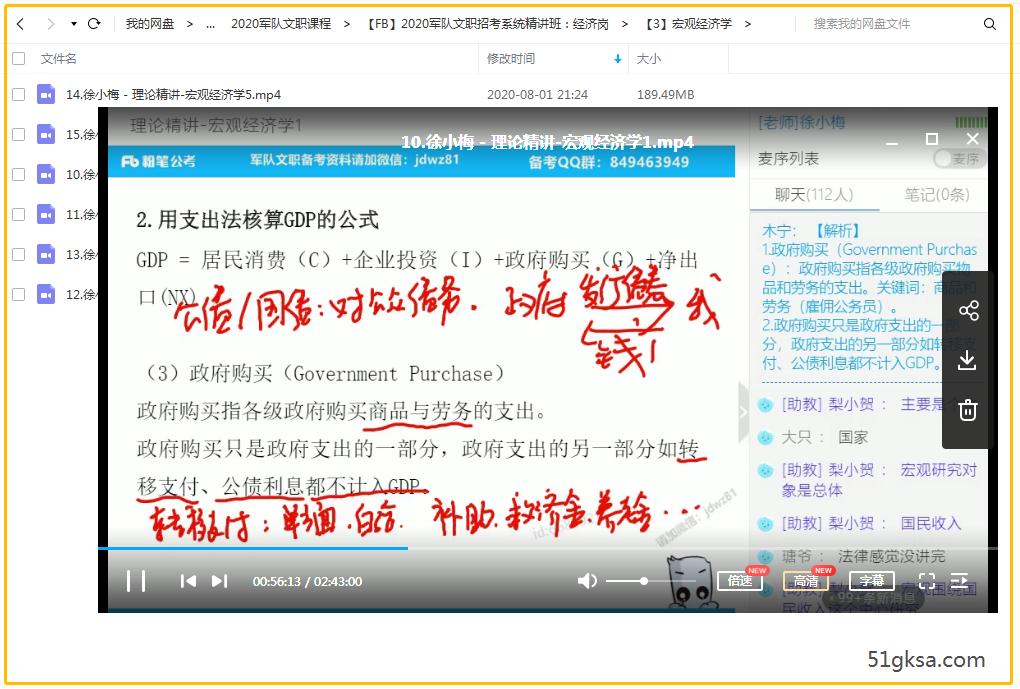 FB2020军队文职招考系统精讲班经济岗插图(2)