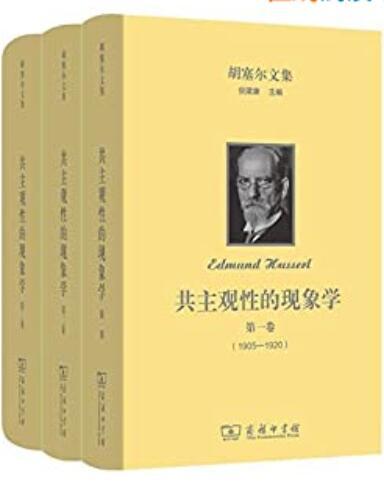 《胡塞尔文集: 共主观性的现象学(全三卷)》埃德蒙德·胡塞尔 epub+mobi+azw3