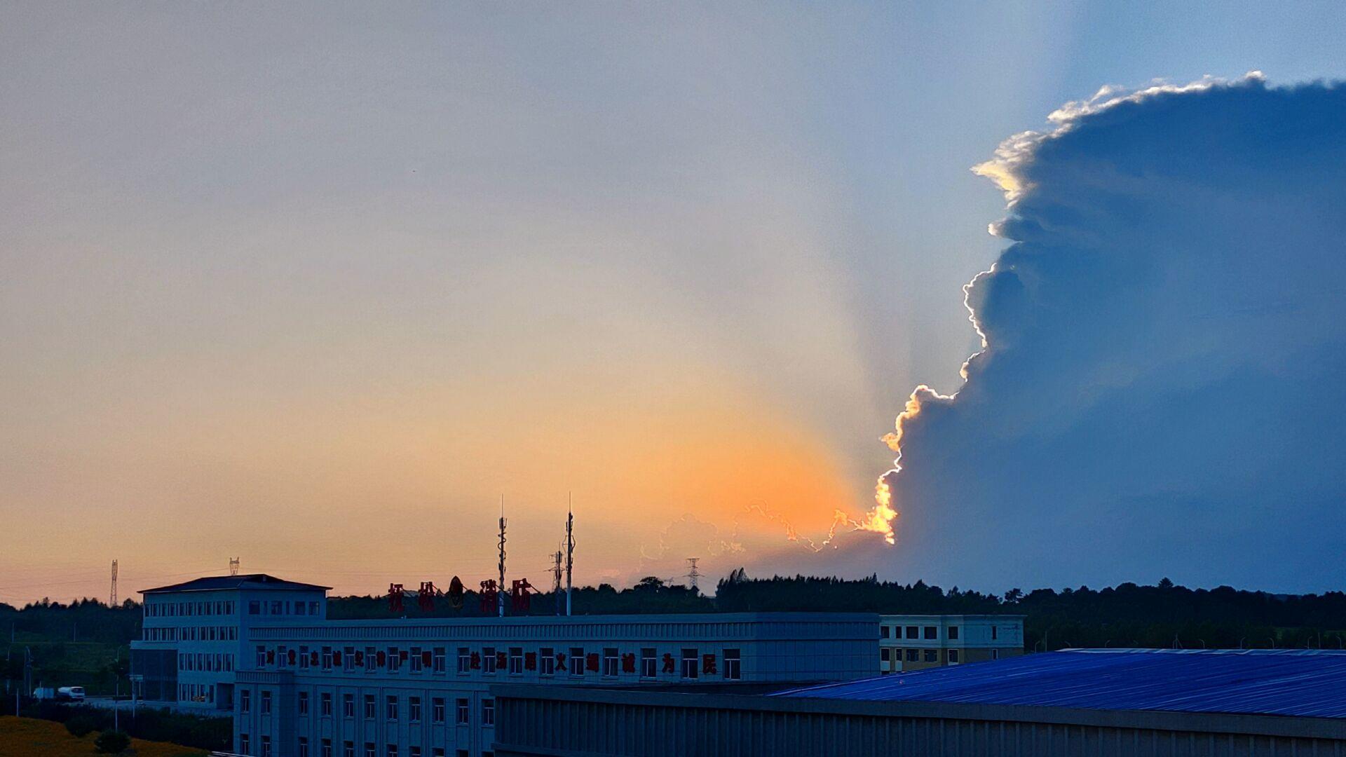 有人说这云彩像川普