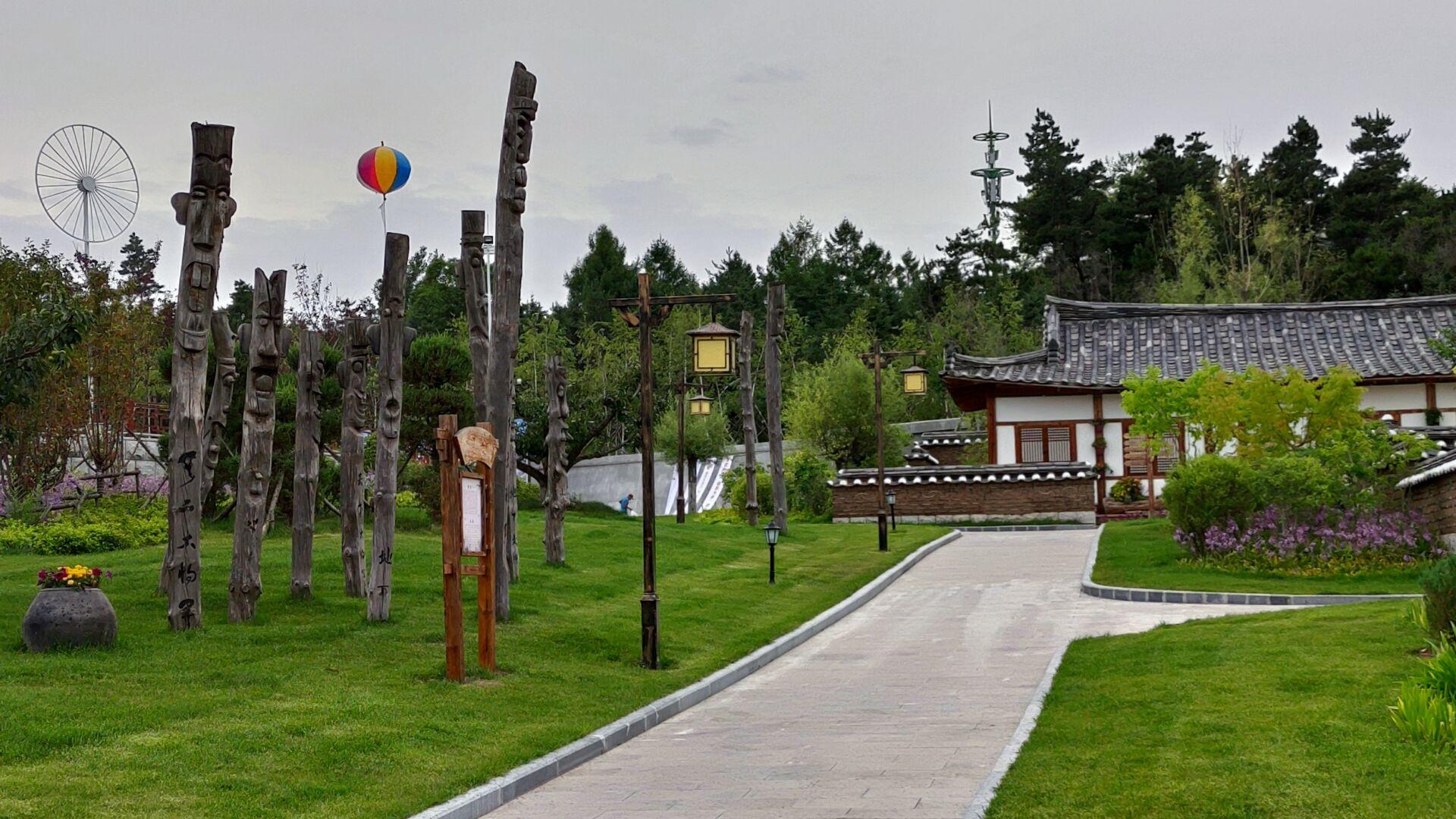 中国朝鲜族民俗园内