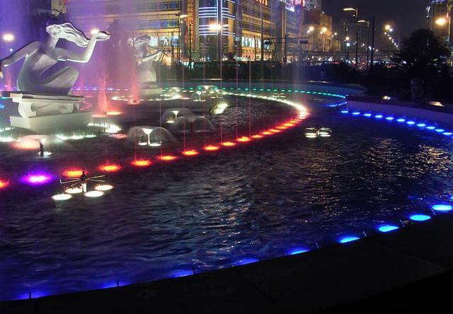 城市夜景照明设计不可或缺的LED洗墙灯 LED地埋灯