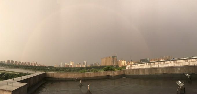 彩虹的美丽
