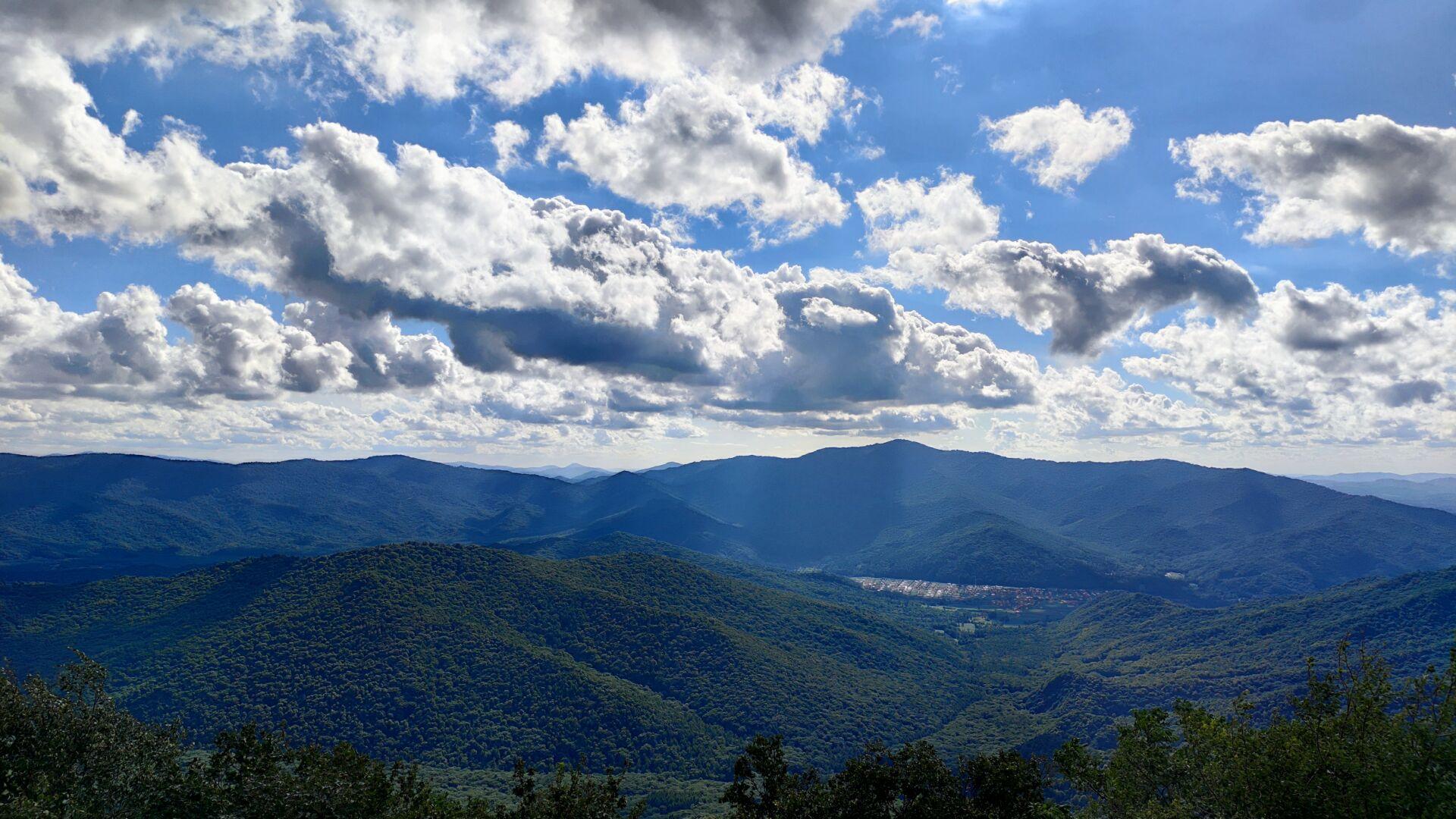 山上的风景
