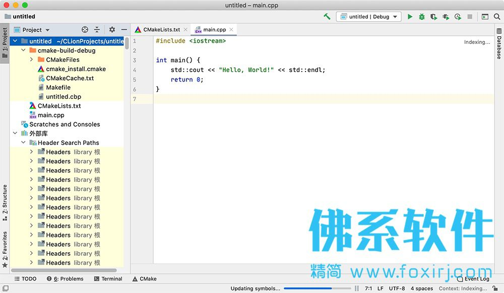 C/C++集成开发环境JetBrains Clion for Mac 中文版