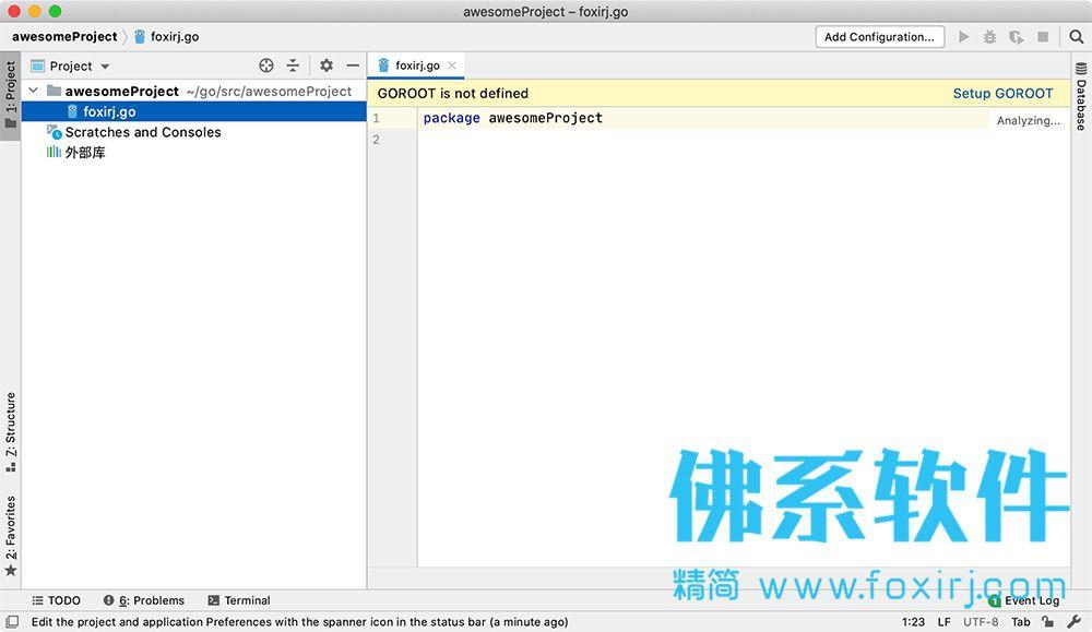 专业的Go语言集成开发环境JetBrains GoLand for Mac 中文版