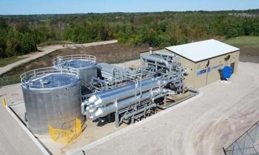 加拿大一座废弃盐矿改造成世界首个零排放空气压缩储能电站