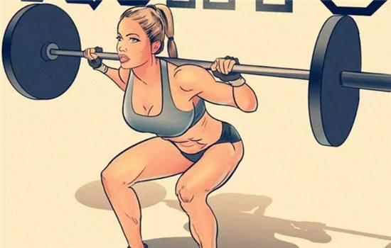 腿部徒手练习行动图解大全-追梦健身网