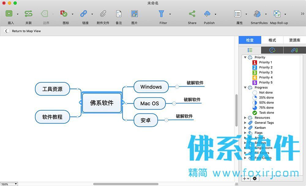 思维导图软件Mindjet MindManager 2020 for Mac 官方中文版