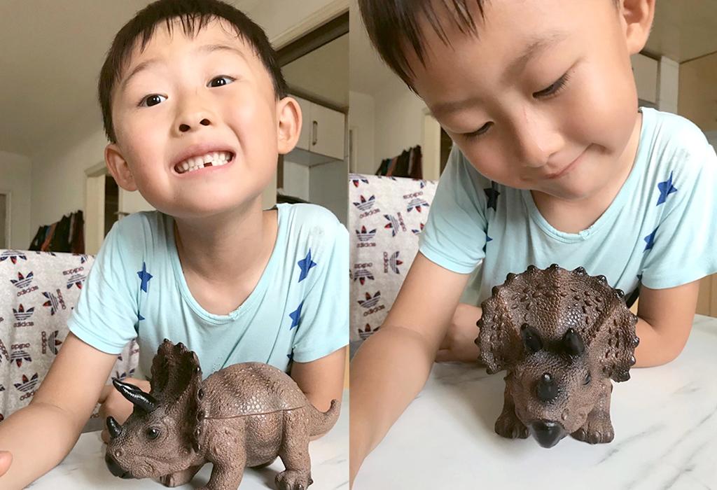 这个小恐龙的名字叫小小