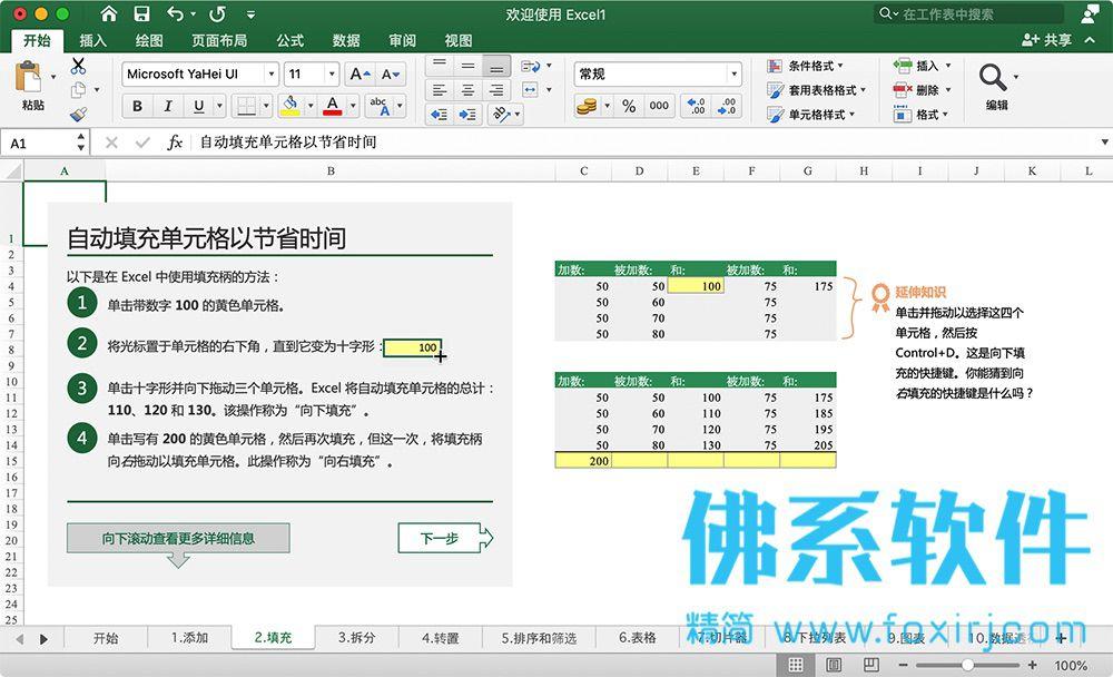 专业的表格处理办公软件Microsoft Excel 2019 VL for Mac 中文版+Excel 2016