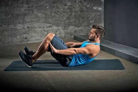 磨炼腹部肌肉的要领是什么-追梦健身网