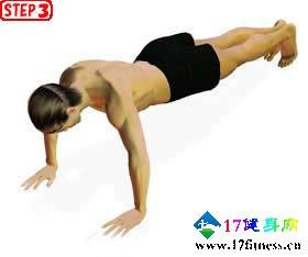 俯卧撑无东西健身设计-追梦健身网