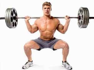 布鲁诺教您做深蹲最能加强腿部肌肉-追梦健身网