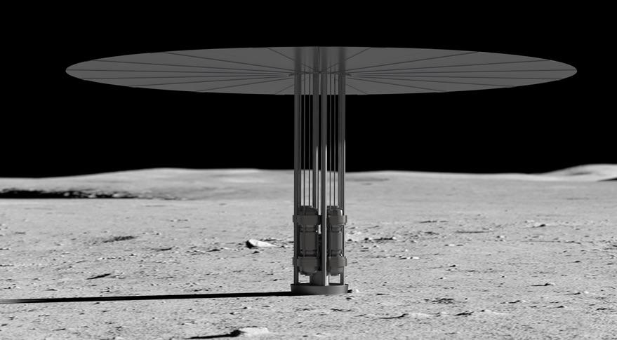 美国宇航局寻求月球核动力系统的建议