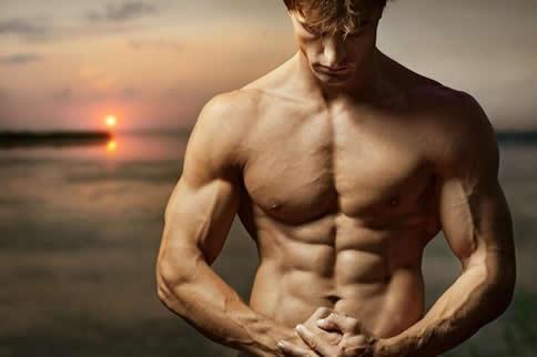 男生在家怎样疾速练出六块腹肌-追梦健身网