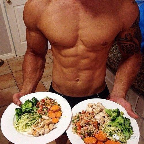 高等私家锻练给健身者的增肌食谱 + 瘦身食谱!-追梦健身网