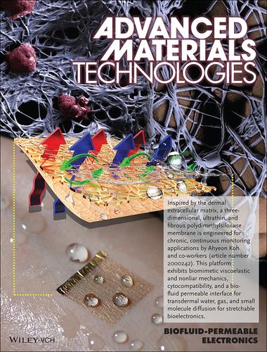 科学家利用有机硅材料打造出能呼吸的可穿戴生物传感器