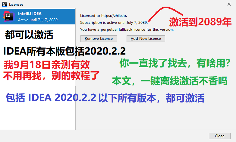 IntelliJ IDEA2020.2破解教程,IDEA2020.2注册码,IDEA2020.2破解